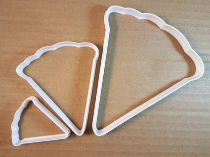 Pizza Slice Takeaway Shape Cookie Cutter Food Dough Biscuit Pastry Fondant Sharp Stencil Pie Take Away Segment Italy Italian