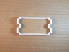 Ticket Cinema Fair Arcade Shape Cookie Cutter Dough Biscuit Pastry Fondant Sharp Stencil Stub Movie Movies Film Theatre Theater Coupon