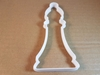 Chess Pawn Piece Game Shape Cookie Cutter Dough Biscuit Pastry Fondant Sharp Stencil