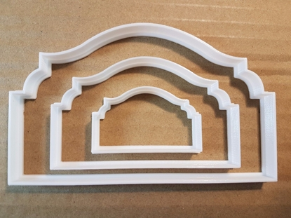 Marquee Tent Shelter Shape Cookie Cutter Dough Biscuit Pastry Fondant Sharp Stencil Wedding Party Yurt