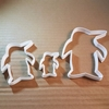 Penguin Animal Bird Shape Cookie Cutter Dough Biscuit Pastry Fondant Sharp Stencil Ice Winter