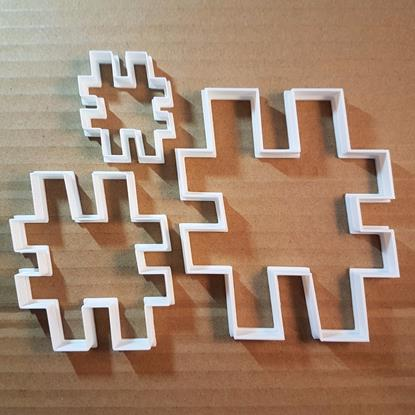 Hashtag Symbol Emoji Shape Cookie Cutter Dough Biscuit Pastry Fondant Sharp Stencil Hash Tag Twitter