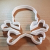 Skull Cross Bones Pirate Shape Cookie Cutter Dough Biscuit Pastry Fondant Sharp Stencil Halloween