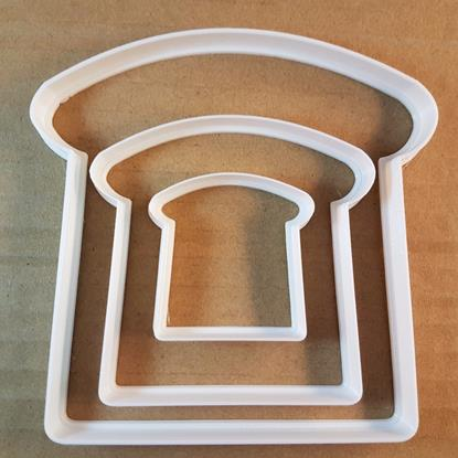 Toast Bread Slice Food Shape Cookie Cutter Dough Biscuit Pastry Fondant Sharp Stencil Sandwich