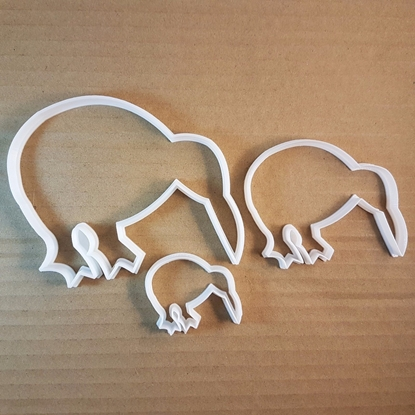 Kiwi Ratite Bird Baby Emu Cookie Cutter Animal Biscuit Pastry Fondant Sharp Stencil