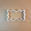 Plaque Frame Splat Shape Cookie Cutter Dough Biscuit Pastry Fondant Sharp Stencil Name Award Certificate