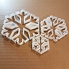 Snowflake Christmas Xmas Shape Cookie Cutter Dough Biscuit Pastry Fondant Sharp Stencil Snow Flake Frost Ice Winter