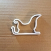 Sleigh Santa Sledge Xmas Cookie Cutter Christmas Biscuit Pastry Fondant Sharp Dough Stencil Father Sled