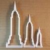 Empire State Building USA Shape Cookie Cutter Dough Biscuit Pastry Fondant Sharp Stencil New York BY City United States Of America