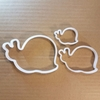 Snail Shell Insect Animal Shape Cookie Cutter Dough Biscuit Pastry Fondant Sharp Stencil Bug Garden