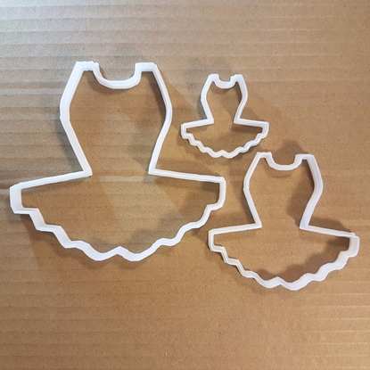 Tutu Ballet Leotard Shape Cookie Cutter Ballerina Biscuit Dress Dancer Pastry Fondant Sharp Dough Stencil Clothing Figure Skater Costume