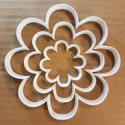 Flower Daisy Plant Garden Shape Cookie Cutter Dough Biscuit Pastry Fondant Sharp Stencil