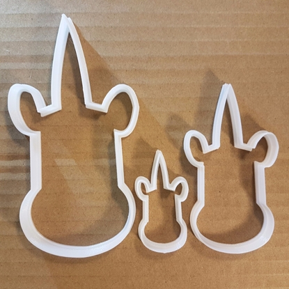 Unicorn Head Horn Myth Shape Cookie Cutter Animal Biscuit Pastry Fondant Sharp Mythical Creature Stencil