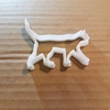 Kitten Kitty Pussy Cat Shape Cookie Cutter Animal Biscuit Pastry Fondant Sharp Dough Stencil Feline Meow