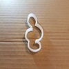 Music Note G Treble Clef Shape Cookie Cutter Dough Biscuit Pastry Fondant Sharp Musical Instrument Stencil
