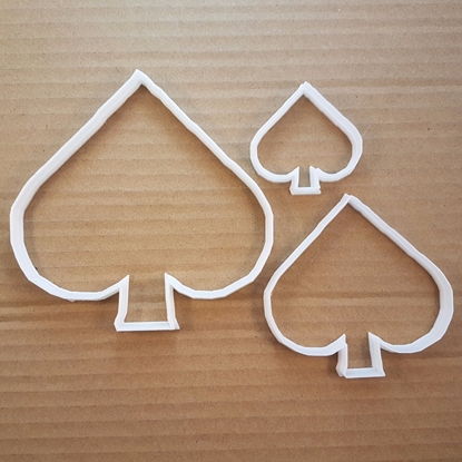 Card Hand Spade Poker Shape Cookie Cutter Dough Deck Biscuit Pastry Fondant Sharp Stencil Suit Casino Game Cards