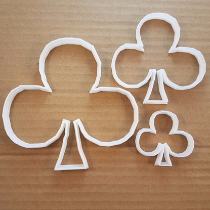 Card Hand Club Poker Snap Shape Cookie Cutter Dough Deck Biscuit Pastry Fondant Sharp Stencil Casino Game Suit Betting