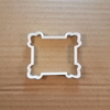 Plaque Document Frame Shape Cookie Cutter Dough Biscuit Pastry Fondant Sharp Name Plate Stencil Prize Award