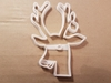 Rudolf Reindeer Bauble Christmas Shape Cookie Cutter Dough Biscuit Fondant Stamp Stencil Sharp Xmas Rhudolf Red Nosed Animal