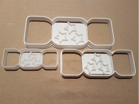 Christmas Cracker Star Shape Cookie Cutter Dough Biscuit Pastry Fondant Stamp Stencil Sharp Xmas Game