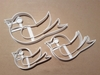 Robin Bird Winter Xmas Shape Cookie Cutter Dough Biscuit Pastry Fondant Stamp Stencil Sharp Christmas Red Animal
