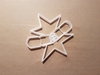 Christmas Cracker Toy Shape Cookie Cutter Dough Biscuit Pastry Fondant Stamp Stencil Xmas Prize