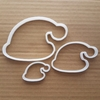Hat Woolly Santa Elf Christmas Shape Cookie Cutter Xmas Biscuit Pastry Stencil Sharp Fondant Dough Bell Elf Winter Wooly