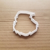 Santa Beard Decorate Xmas Shape Cookie Cutter Dough Biscuit Pastry Fondant Sharp Stencil Claus Head Father Christmas