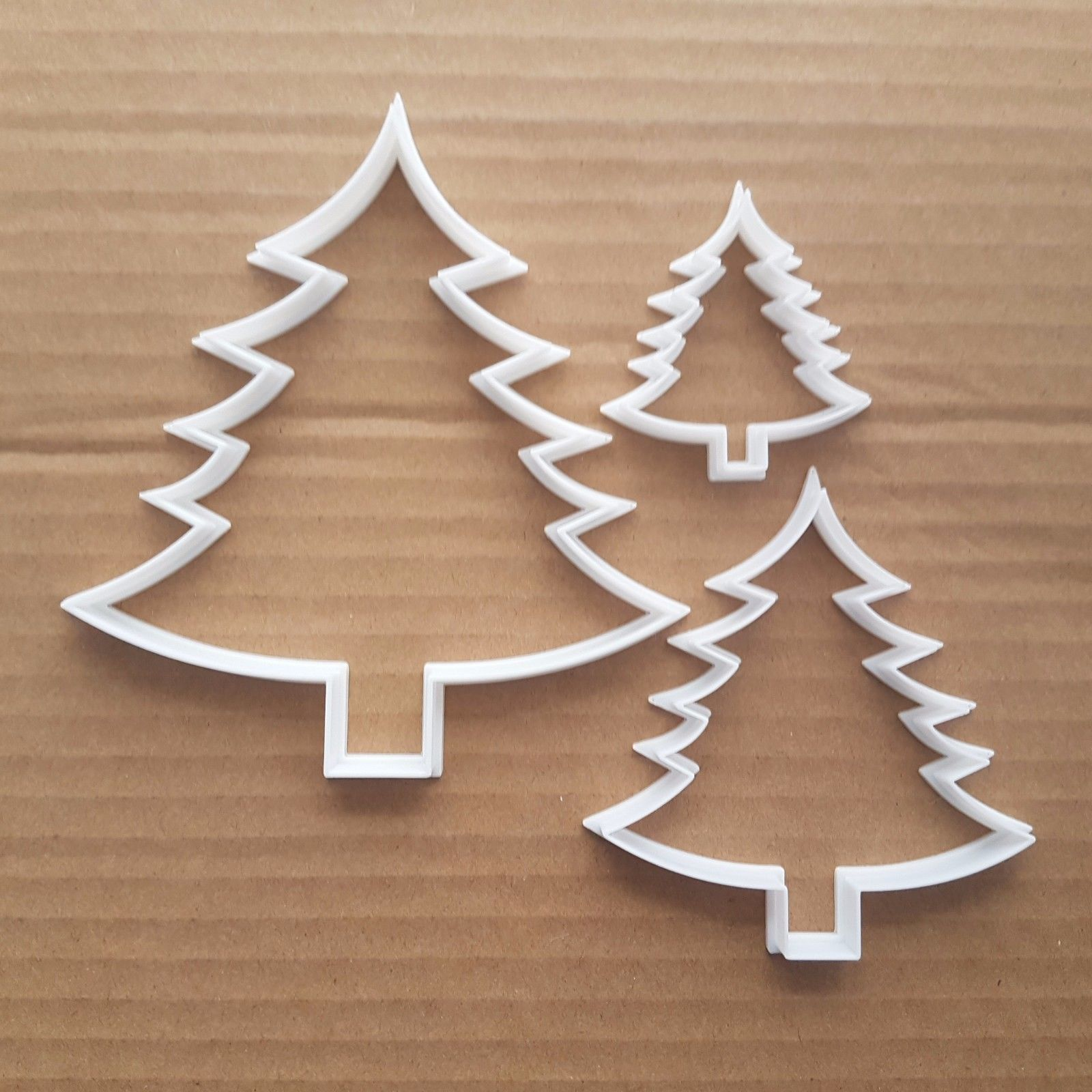 Tree Fern Christmas Xmas Shape Cookie Cutter Dough Biscuit Pastry