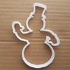 Snowman Cookie Cutter Xmas Dough Biscuit Pastry Christmas Snow Man Winter Ice Stencil Fondant Sharp Shape
