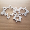 Snowflake Cookie Cutter Snow Flake Dough Pastry Biscuit Winter Christmas Xmas Stencil Fondant Sharp Sharp