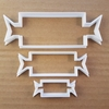 Christmas Cracker Prize Shape Cookie Cutter Xmas Biscuit Pastry Fondant Sharp Stencil Game Party