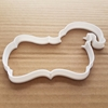 Santa Elf Plaque Xmas Shape Cookie Cutter Dough Biscuit Pastry Fondant Sharp Claus Father Christmas Stencil Prize