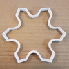 Snowflake Cookie Cutter Dough Pastry Biscuit Winter Xmas Christmas Snow Ice Flake Stencil Sharp