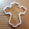 Cross Symbol Xmas Christmas Shape Cookie Cutter Biscuit Pastry Fondant Sharp Dough Stencil Crucifix Holy Christian Baptism Christening