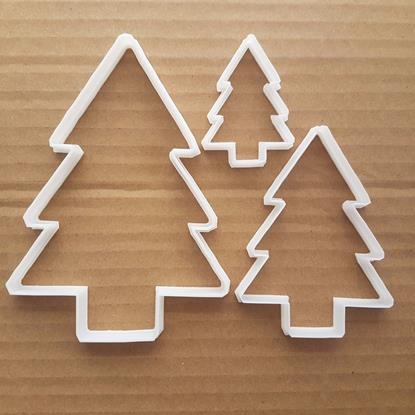 Christmas Tree Decorate Shape Cookie Cutter Dough Biscuit Pastry Fondant Sharp Stencil Xmas Decoration Plant Fir