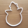 Snowman Winter Christmas Shape Cookie Cutter Dough Biscuit Pastry Fondant Sharp Stencil Xmas Snow Man