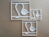 Leo Star Sign Symbol Shape Cookie Cutter Dough Biscuit Pastry Fondant Stamp Stencil Sharp Astrological Astrology