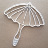 Umbrella Parasol Shape Cookie Cutter Dough Biscuit Pastry Fondant Sharp Stencil Victorian Beach Brolly Rain