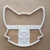 Corgi Face Dog Royal Pet Shape Cookie Cutter Dough Biscuit Pastry Fondant Sharp Stencil Animal Puppy Pooch