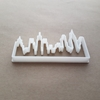 City Skyline New York Shape Cookie Cutter Dough Biscuit Pastry Fondant Sharp Stencil NY The Big Apple Cityscape Horizon Outline
