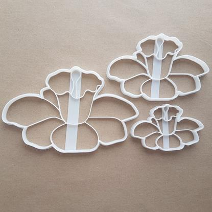 Daffodil Plant Flower Shape Cookie Cutter Dough Biscuit Pastry Fondant Sharp Stencil Floral Garden St. David's Day Wales Welsh