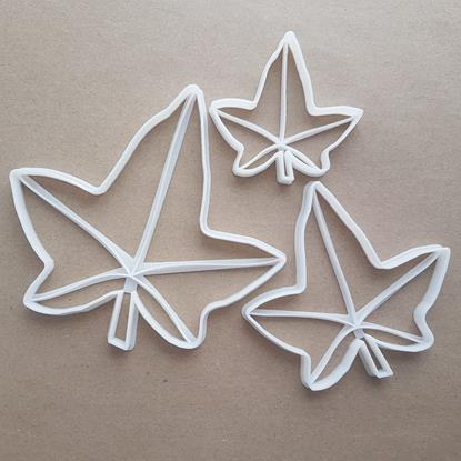 Ivy Leaf Ivies Plant Shape Cookie Cutter Dough Biscuit Pastry Fondant Sharp Stencil Garden Leaves