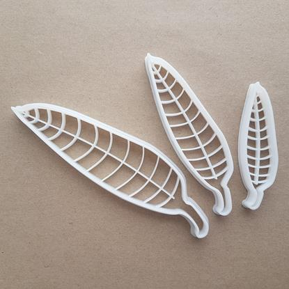 Willow Leaf Sallow Plant Shape Cookie Cutter Dough Biscuit Pastry Fondant Sharp Stencil Garden Leaves Tree