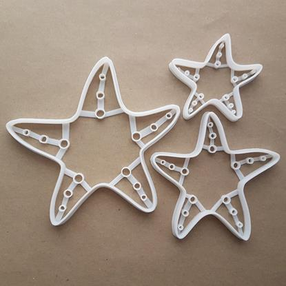 Starfish Sea Star Marine Shape Cookie Cutter Dough Biscuit Pastry Fondant Sharp Stencil Fish Ocean Beach Seaside Creature