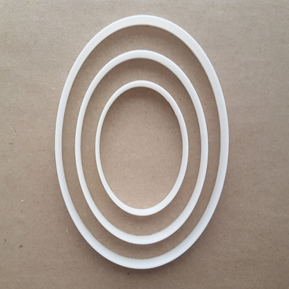 Oval Curve Egg Ellipse Shape Cookie Cutter Dough Biscuit Pastry Fondant Sharp Stencil Maths Mathematics Basic