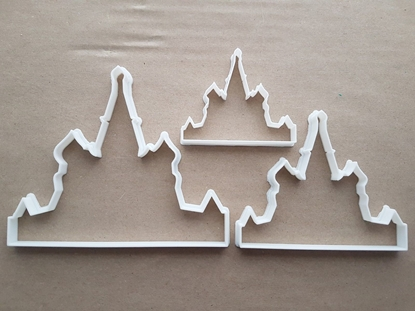 Church Of The Savior Blood Russia Shape Cookie Cutter Dough Pastry Fondant Sharp Stencil Building Russian