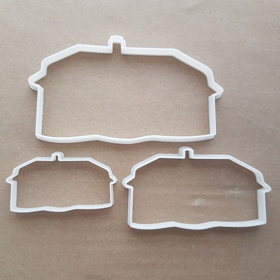 Cob House Clom Straw Home Shape Cookie Cutter Dough Biscuit Pastry Fondant Sharp Stencil Beach Hut Shack