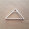 Great Pyramid Of Giza Shape Cookie Cutter Dough Biscuit Pastry Fondant Sharp Egypt Egyptian Desert Ancient