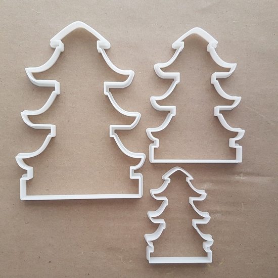 Chinese Religious Building Tower Shape Cookie Cutter Dough Biscuit Fondant Sharp Japanese Temple Stencil Buddhist Buddhism Japan China Asia